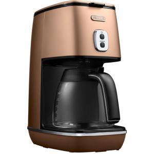 デロンギ ディスティンタコレクションドリップコーヒーメーカー スタイルコッパー De'Longhi ICMI1011J-CP|solemo