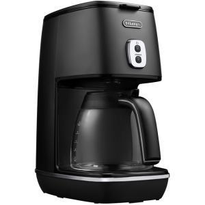 デロンギ ディスティンタコレクションドリップコーヒーメーカー エレガンスブラック De'Longhi ICMI1011J-BK|solemo