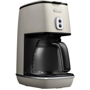 デロンギ ディスティンタコレクションドリップコーヒーメーカー ピュアホワイト De'Longhi ICMI1011J-W|solemo
