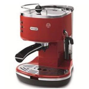 デロンギ iconaコレクションエスプレッソ・カプチーノメーカー レッド De'Longhi ECO310R エスプレッソマシン コーヒーメーカー|solemo
