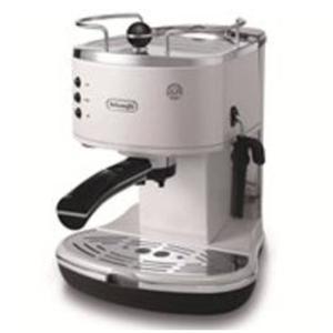 デロンギ iconaコレクションエスプレッソ・カプチーノメーカー ホワイト De'Longhi ECO310W エスプレッソマシン コーヒーメーカー|solemo