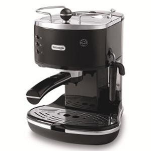 デロンギ iconaコレクションエスプレッソ・カプチーノメーカー ブラック De'Longhi ECO310BK エスプレッソマシン コーヒーメーカー|solemo