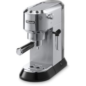 デロンギ デディカ エスプレッソ・カプチーノメーカー メタルシルバー De'Longhi EC680M エスプレッソマシン コーヒーメーカー|solemo