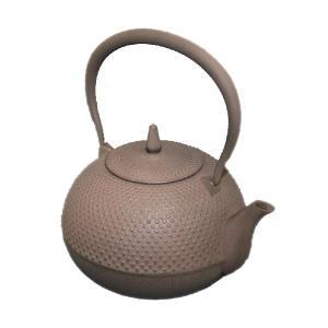 南部鉄瓶 梔子1.2L 茶 南部池永 南部鉄器 日本製|solemo