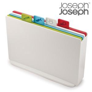 ジョセフジョセフ インデックス付まな板 アドバンス2.0 レギュラー ホワイト JosephJoseph カッティングボード まな板 セット 収納 コンパクト|solemo
