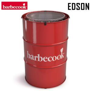 バーべクック barbecook ドラム缶型BBQグリル エドソン レッド BBQコンロ おしゃれ solemo