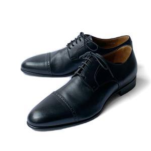 シューズ メンズ ドレスシューズ レースアップ ビジネス ブランド イタリア BARRETT バレット ブラック 外羽根 革底 紳士靴|solfiglio