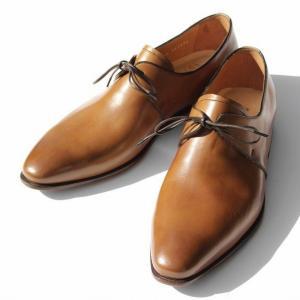 シューズ ビジネス カジュアル メンズ ブランド バレット BARRETT レースアップ ライトブラウン 革靴 ドレスシューズ 革底|solfiglio