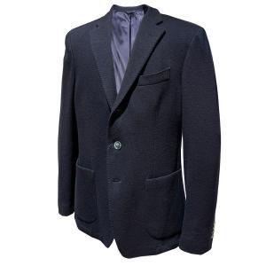 ジャケット メンズ ビジネス カジュアル ブランド フェデーリ FEDELI ウール ネイビー|solfiglio