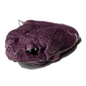 小銭入れ コインケース コブヤ Kobja カエル革 深紫  メンズ|solfiglio