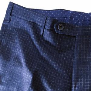 パンツ ボトムス メンズ ブランド Rota ロータ チェック ウール|solfiglio