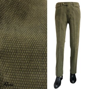 パンツ ボトムス メンズ カジュアル ブランド Rota コットンストレッチ 綿|solfiglio
