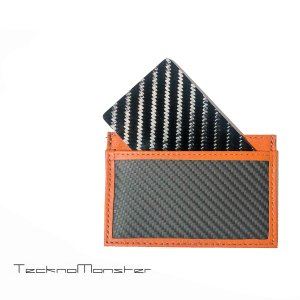 テックサブラージュカード  カードケース 定期入れ パスケース  ブランド カーボンファイバー チタン TecknoMonster テクノモンスター イタリア製|solfiglio