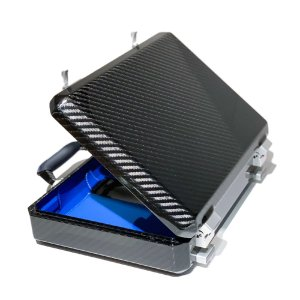 TecknoMonster(テクノモンスター) アタッシュケース アタッシェケース バッグ 書類鞄 ブランド メンズ レディース カーボンファイバー イタリア製|solfiglio
