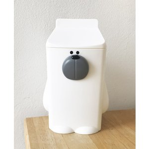 【送料無料】小型加湿器 牛乳パック型 MILK BOX Kumacorozoo (クマコロズー) シロクマ|solidalliance