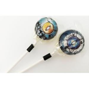 2本セット Lollipops Candy オカルトキャンディ 3D CREATURE EYES(ブラックベリー味)|solidalliance
