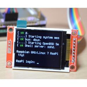 1.8inch液晶モニタ(SPI接続)ラズベリーパイ(Raspberry Pi ラズパイ)用ケーブルつき 初心者向け詳細説明書つき サポートあり solinnovay