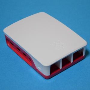 Raspberry Pi 4B用 公式ケース(赤白) Pi 4 Case Red/White Mad...