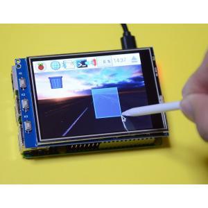 Raspberry Pi(ラズベリーパイ)用液晶モニタ(B+/2B/3B用小型タッチパネル液晶)320X240ドット 3.2inch RPi LCD 初心者向けダウンロード版説明書、サポート付 solinnovay