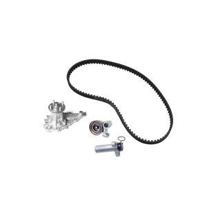 トヨタ ヴェロッサ(JZX110) マークII(JZX110) ターボ車 タイミングベルト ベルトテンショナー オートテンショナー ウォーターポンプ 4点セット 16110-49135|solltd2
