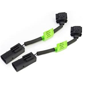 ベンツ W203 W204 W209 R171 カムアジャスターケーブル オイル漏れ対策ハーネス 2個セット C180 C200 C230 CLK200 SLK200 2711502733|solltd2