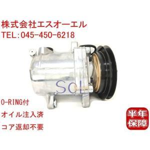 スズキ アルト(HA12S HA12V HA22S HA23S HA23V) アルトラパン(HE21S) アルトワークス(HA12S HA22S) エアコンコンプレッサー 95200-77G01 95200-77G00|solltd2