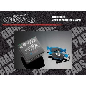 KRANZ正規品 PORSCHE 911 ジガベーシック フロント用ブレーキパッド左右分 GF501|solltd