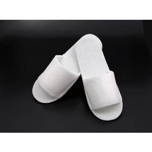 サンドイッチスリッパ(不織布)白 250足 業務用 まとめ買い 使い捨て SYZR-0017|solouno