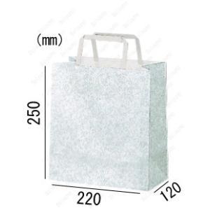 紙袋 手提げ袋 エスプリ 平紐 HA-5 400枚 22×12×25cm 業務用まとめ買い solouno