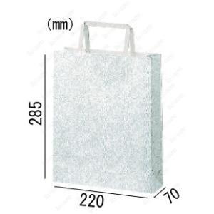 紙袋 手提げ袋 エスプリ 平紐 HA-6 400枚 22×7×28.5cm 業務用まとめ買い solouno