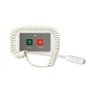 呼び出しベル ワイヤレスチャイム 単品 ナースコール付送信機 SOLT 介護 握りスイッチ