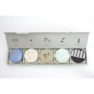 大堀相馬焼 豆皿セレクション 福のまめ皿 5枚セット(受注生産 約1ヶ月待ち)|soma-yaki|02