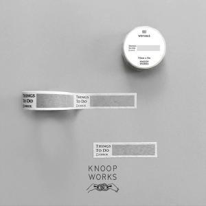 KNOOPWORKS クノープワークス マスキングテープ マステ おしゃれ 15mm 1.5cm T...