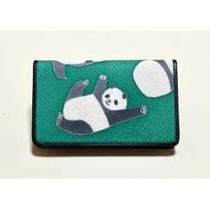 カードケース「パンダ」|some-moyou