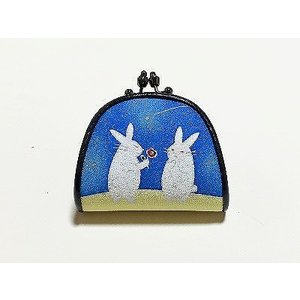 がま口「告白ウサギ」|some-moyou