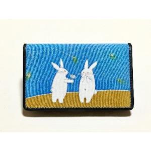 カードケース「告白ウサギ」|some-moyou