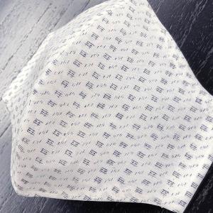 和柄布マスク 「本麻上布」浴衣地使用|some-tsuka