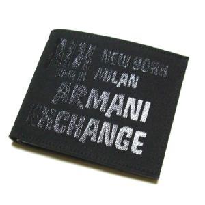 アルマーニエクスチェンジ メンズ二つ折り財布 I6SA947|something