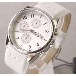 [送料無料] D&G TIME ドルガバ SANDPIPERクロノグラフ時計|something