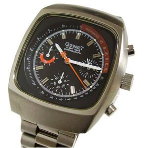 [GUIONNET/ピエールギオネ] メンズ フライトタイマー クロノグラフ腕時計 BR1100N|something