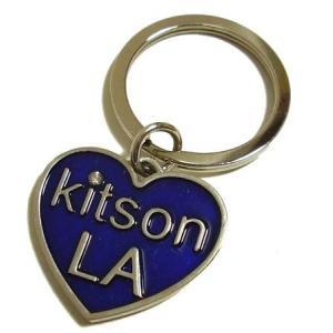 キットソン  キーホルダー ブルー something