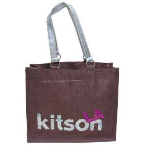 KITSON スパンコールエコトートバッグ Los Angeles Sequin Eco Tote something