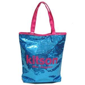 KITSON スパンコールトートバッグ something