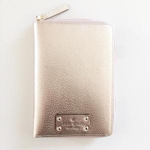 KATE SPADE/ケイトスペード 2018年最新システム手帳  wellesley zip around personal organizer ROSE GOLD|something