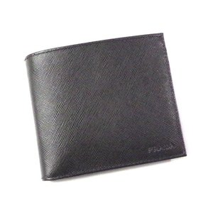 PRADA/プラダ  メンズ二つ折り財布 2M0738 SA...