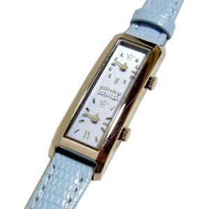 [pinkywolman/ピンキーウォルマン] 2カ国表示 レディース腕時計 91023/ライトブルー|something