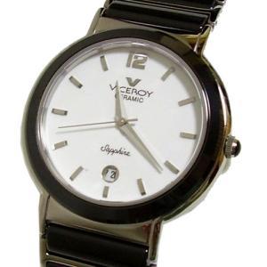 VICEROY/ヴァイスロイ (F1フェルナンドアロンソ公式スポンサー) ブラックセラミック・メンズ腕時計|something
