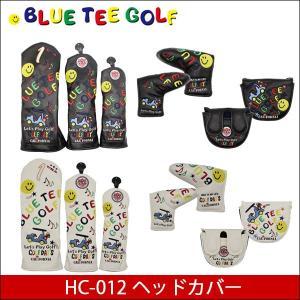取寄せ商品  BLUE TEE GOLF ブルーティーゴルフ HC-012 スマイル&カート ヘッドカバー|somethingfour