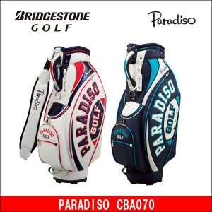 取寄せ商品 BRIDGESTONE(ブリヂストン) PARADISO(パラディーゾ) CBA070 キャディバッグ ゴルフバッグ|somethingfour