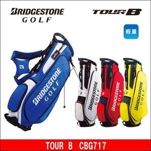 取寄せ商品 BRIDGESTONE(ブリヂストン) TOUR B(ツアービー) CBG717 スタンド キャディバッグ ゴルフバッグ|somethingfour